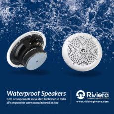 SISTEMI AUDIO IMPERMEABILI - WATERPROOF SPEAKERS